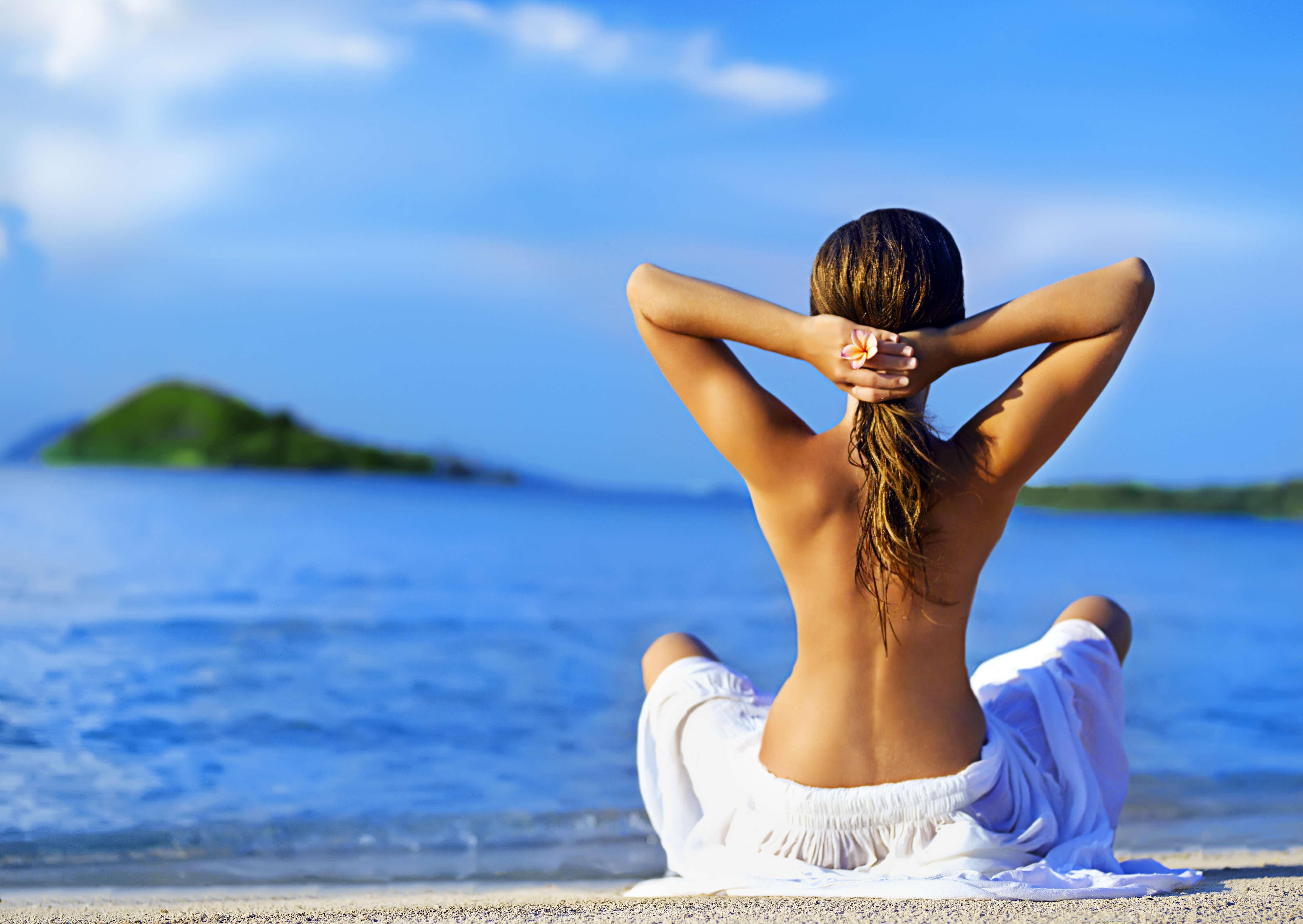 cuidar el pelo después de la exposición solar