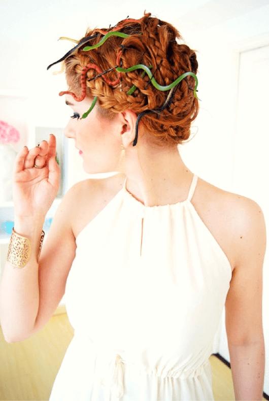Peinado de Medusas