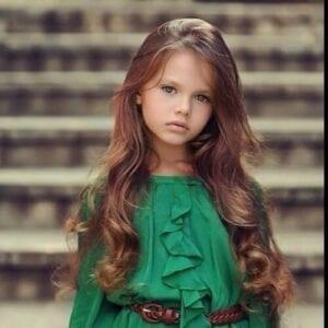 cuidado del cabello niña