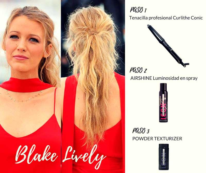 Blake Lively peinado