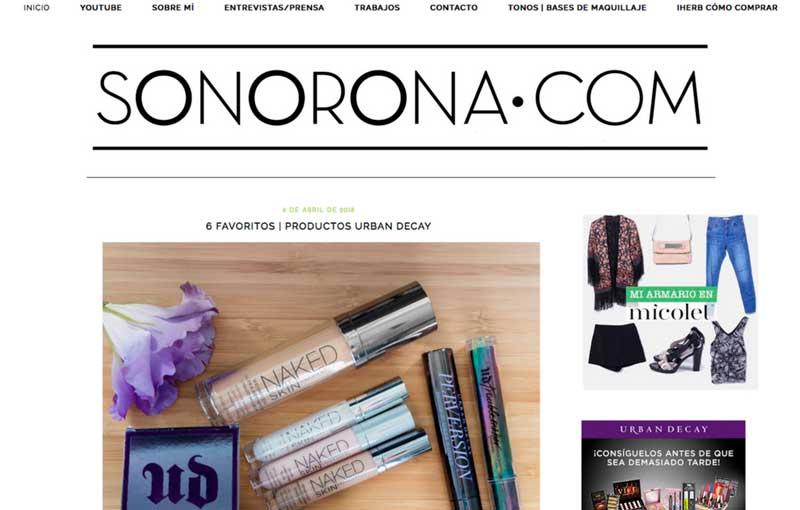 Sonorona