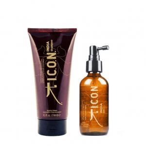 ICON INDIA Champú + Dry – Suavidad, Brillo y Protección
