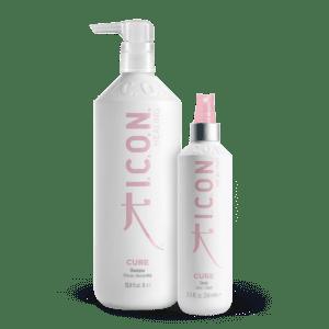 champu y spray para cabellos finos y debilitados de icon