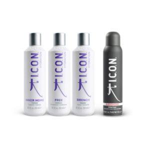 Tratamiento natural para cabellos secos